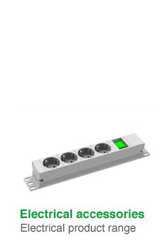 Elektro-Zubehör · Electrical product range
