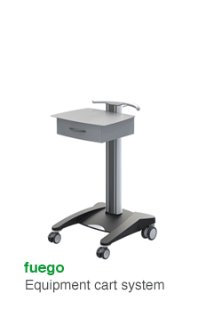 fuego · Equipment cart system