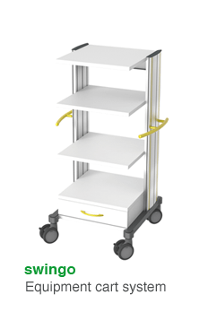 swingo · Equipment cart system